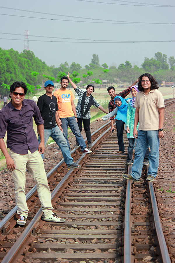 "The great ""Railroad Track Slum"" Band"